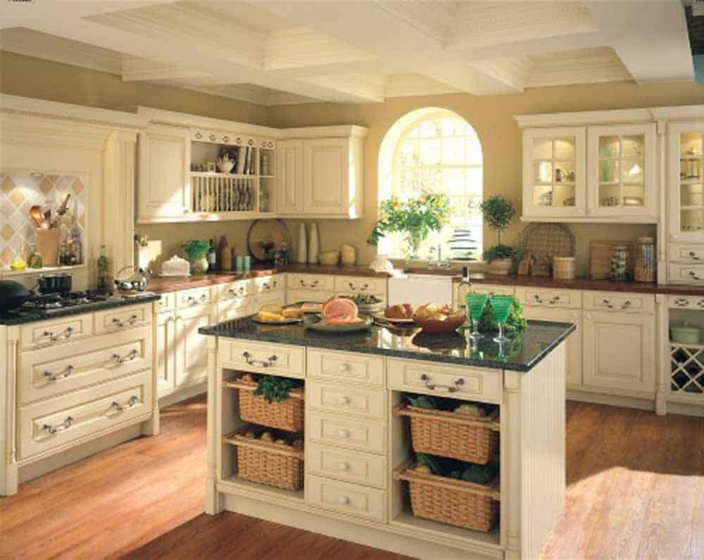 kitchen cabinet island ideas. . transparent doors could make a