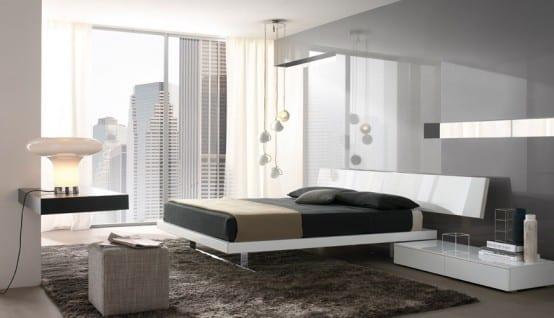 25 inspirational modern bedroom ideas -designbump
