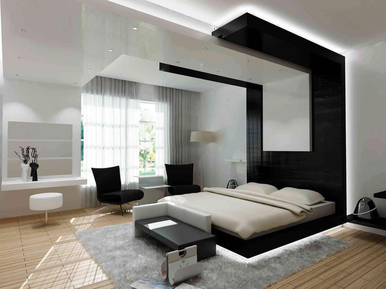 15 Inspiring Design Ideas: 25 Inspirational Modern Bedroom Ideas -DesignBump