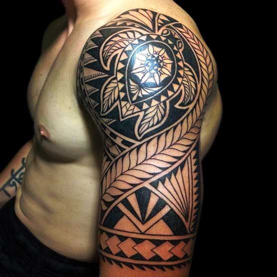 28 insanely cool tribal tattoos for men designbump. Black Bedroom Furniture Sets. Home Design Ideas