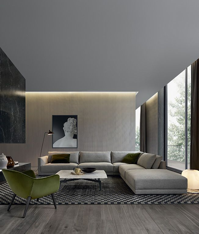 30 Modern Home Decor Ideas: 30 Brilliant Living Room Furniture Ideas -DesignBump