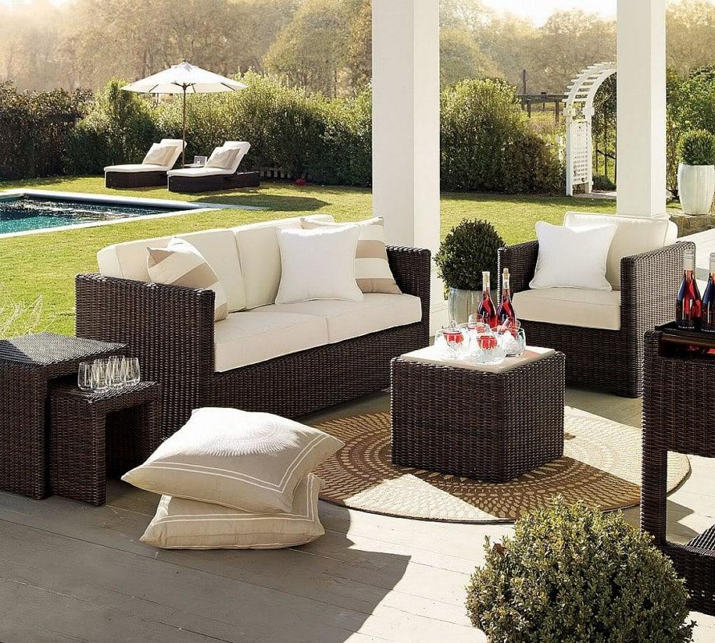 Outdoor Living Room Designs 23 Modern Outdoor Furniture Ideas Designbump