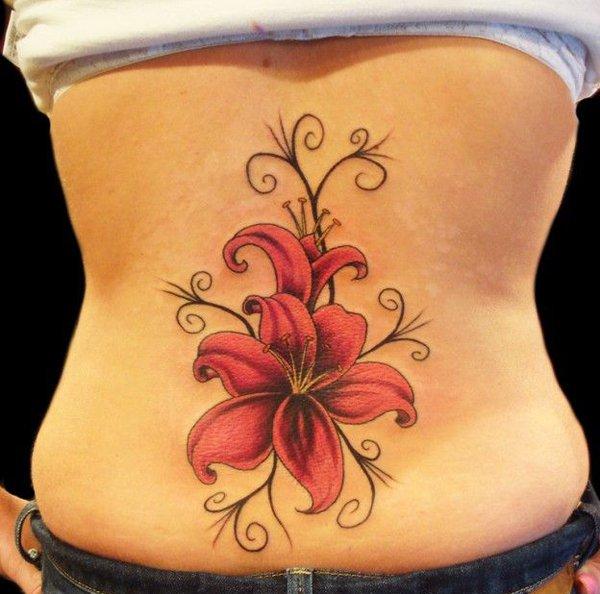 24 Sexy Lower Back Tattoos -DesignBump