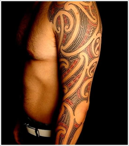 Why Do Maori People Tattoo Their Faces: 15 Beautiful Maori Tribal Tattoo Designs -DesignBump
