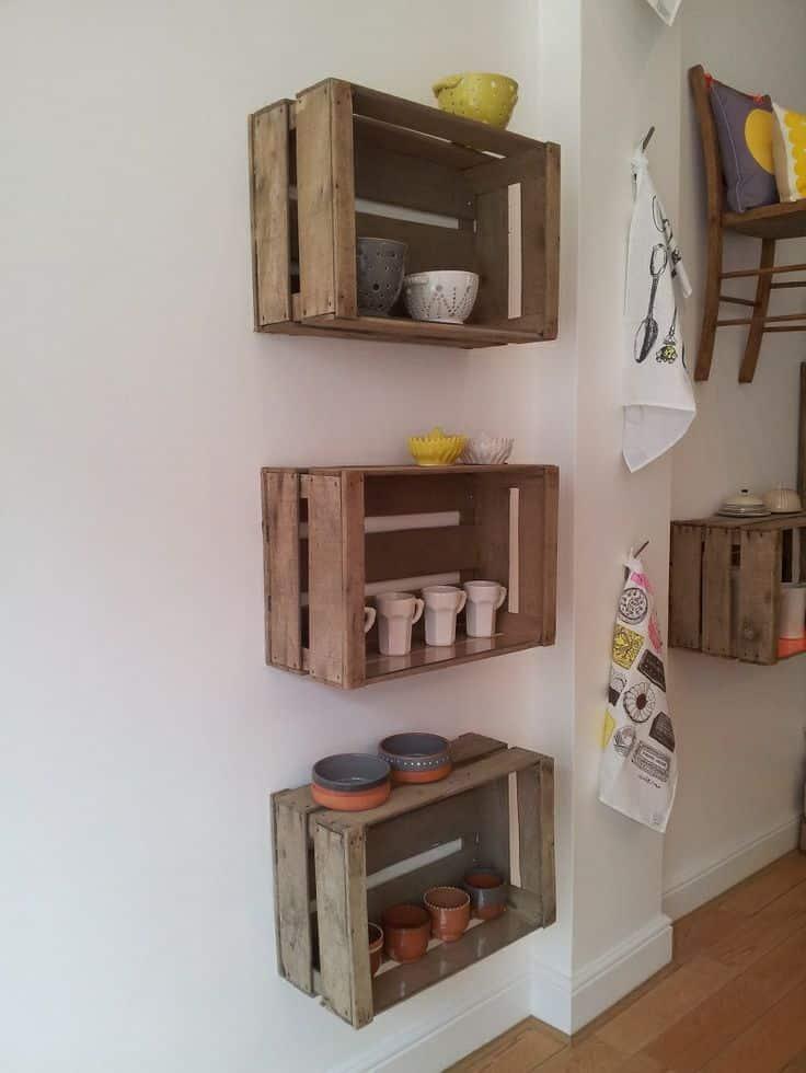 36 Brilliant Old Wooden Crate Furniture Ideas -DesignBump