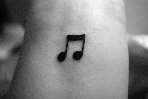 Eighth Note Tattoo 32 Beautiful Mu...