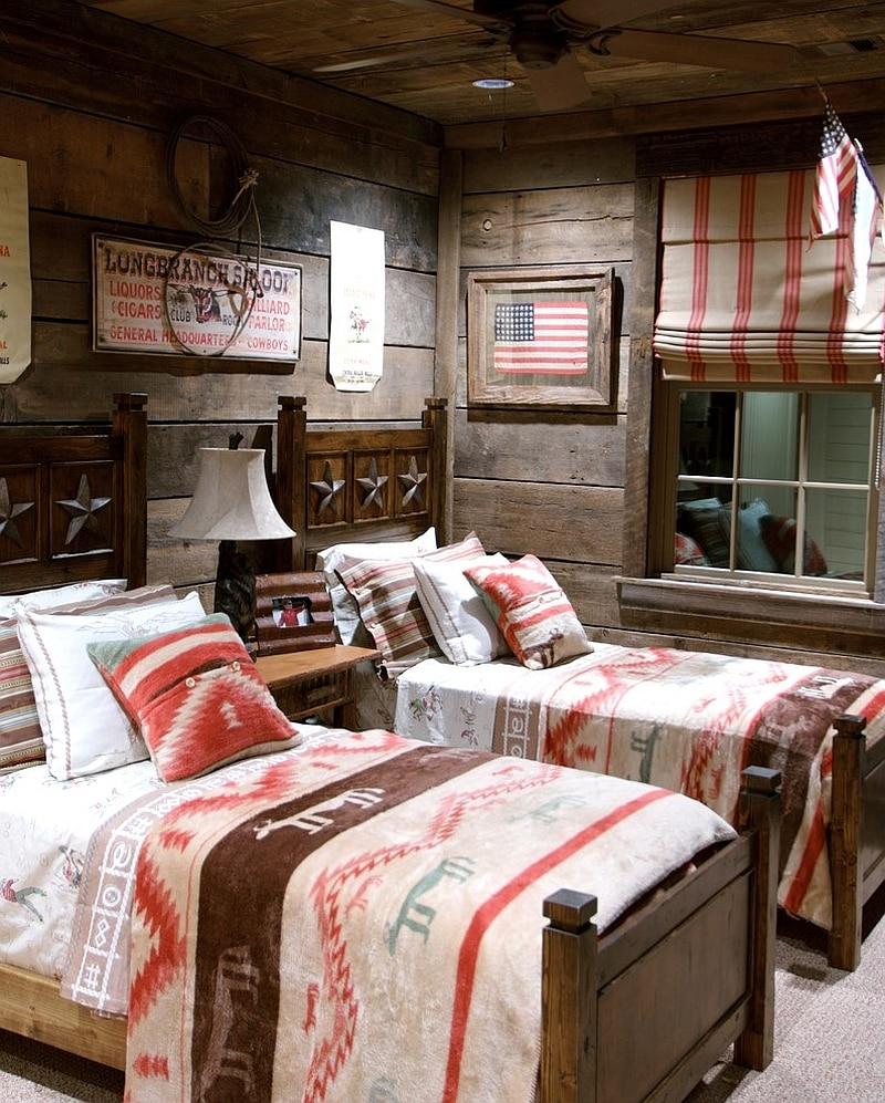 rustic bedroom designs