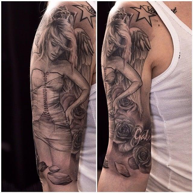 Realism Tattoo Sleeve: 50+ Hyper-Realistic Sleeve Tattoos By Niki Norberg -DesignBump