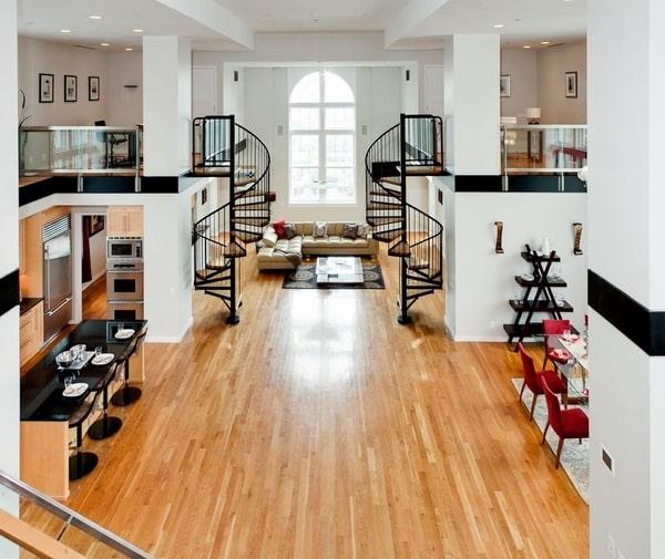 Cook Street Apartments: 23 Most Creative Spiral Staircase Designs -DesignBump