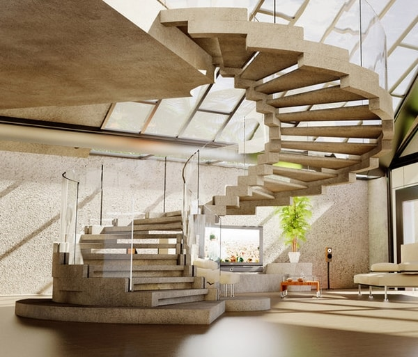 23 Most Creative Spiral Staircase Designs DesignBump