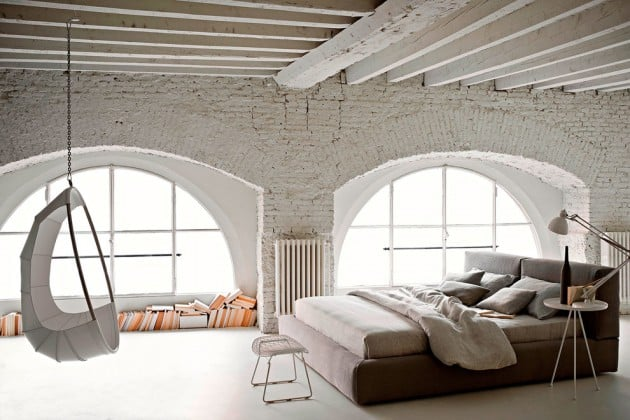 White Industrial Bedroom Part 81