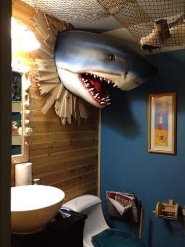 21 shark gift ideas for kids designbump for How do sharks use the bathroom