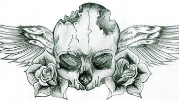 Pencil Sketch tattoo Ideas