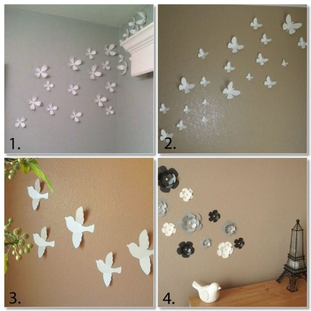20 Creative DIY 3D Wall Art -DesignBump