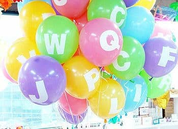 Make your Letters Pop with These Alphabet Balloons