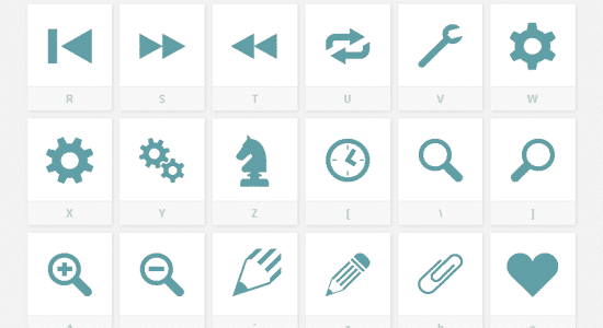 free icon fonts 02 - 18 BEST FREE ICON FONTS FOR GRAPHIC DESIGN PROJECTS