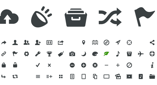 free icon fonts 09 - 18 BEST FREE ICON FONTS FOR GRAPHIC DESIGN PROJECTS