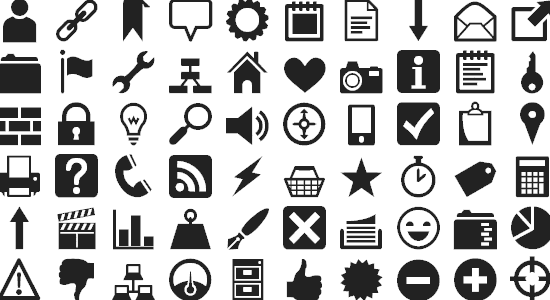 free icon fonts 10 - 18 BEST FREE ICON FONTS FOR GRAPHIC DESIGN PROJECTS