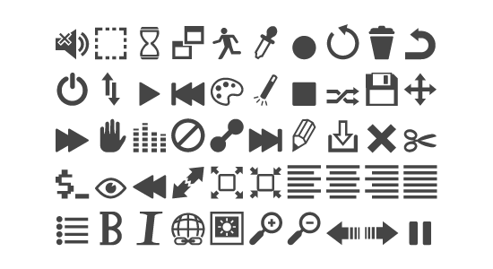 free icon fonts 11 - 18 BEST FREE ICON FONTS FOR GRAPHIC DESIGN PROJECTS