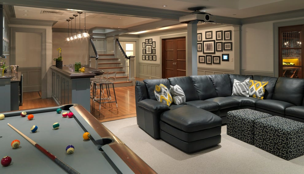28+ awesome home basement ideas -designbump