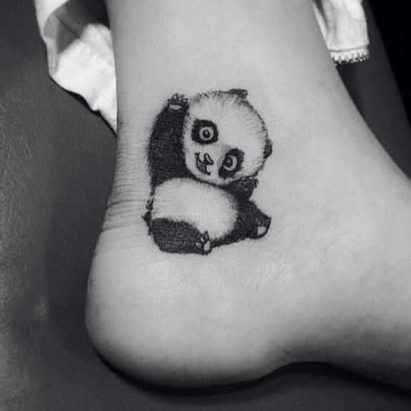 Cute Panda Tattoos