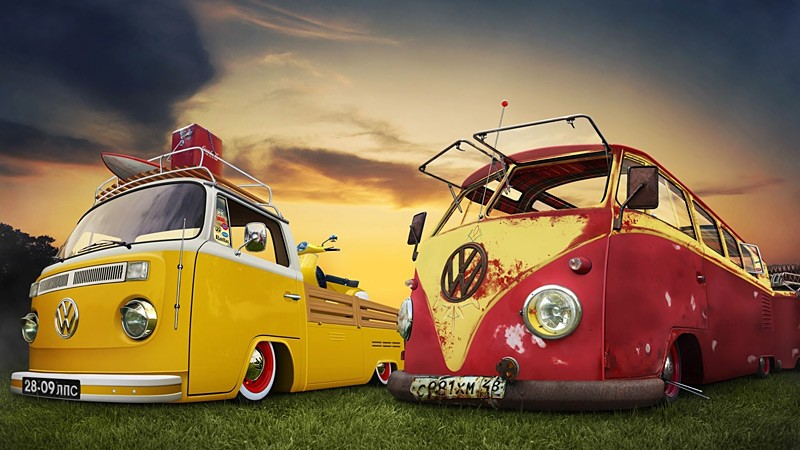 Retro Campervans