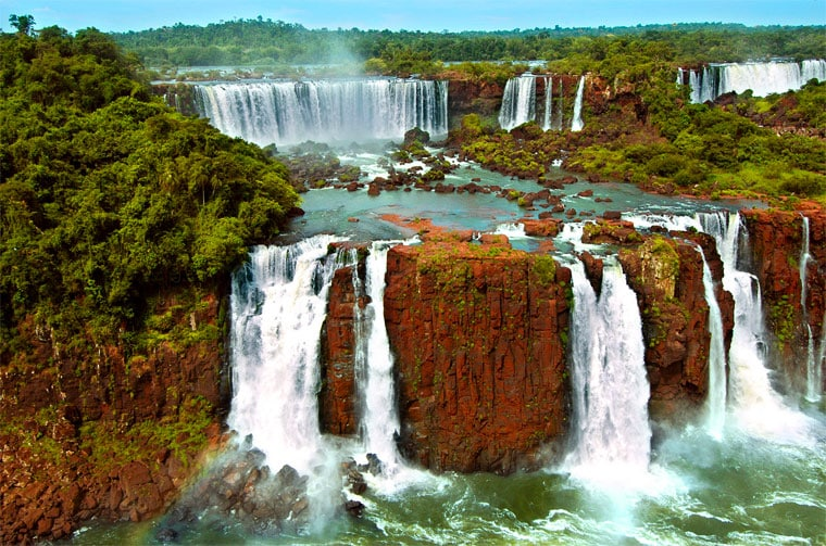 Amazing Waterfalls: Iguazu Falls in Argentina