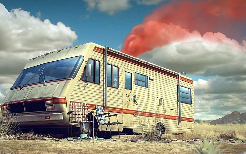 The Krystal Ship Motorhome From Breaking Bad