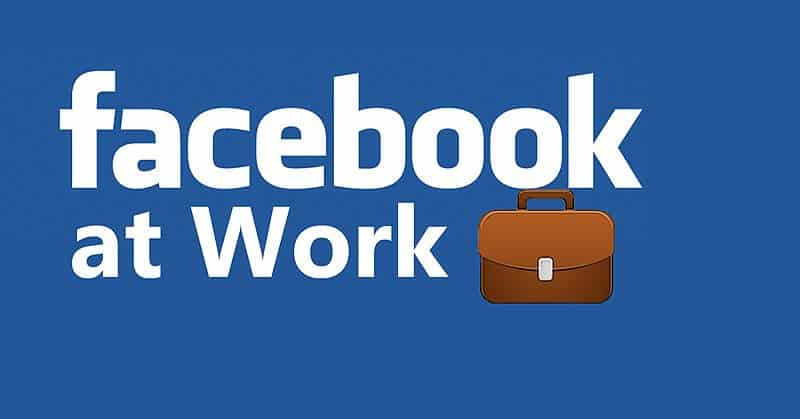 Facebook at Work - project management apps