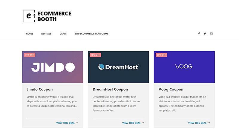 Ecommerce Design Deals