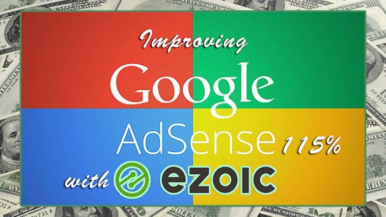 Ezoic Review : Increase Adsense Revenue 115% on Average
