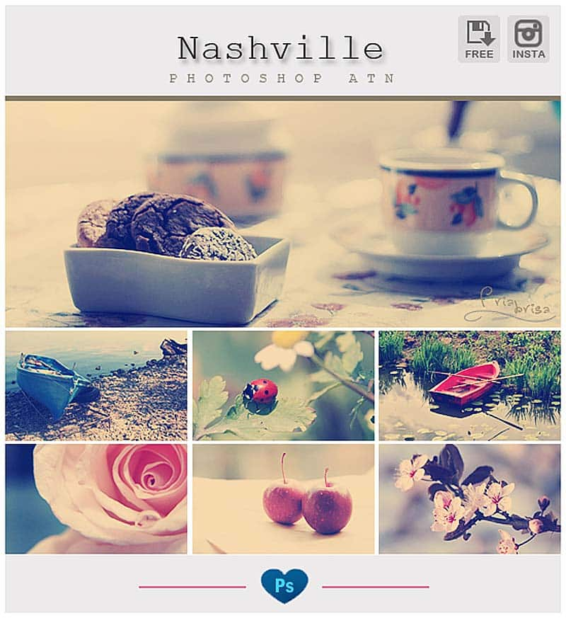 Nashville Instagram Effect pack