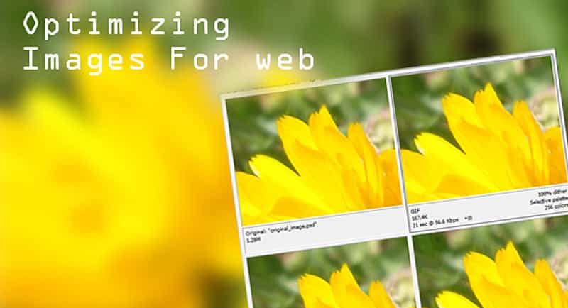 Optimizing images for the Web : image optimization