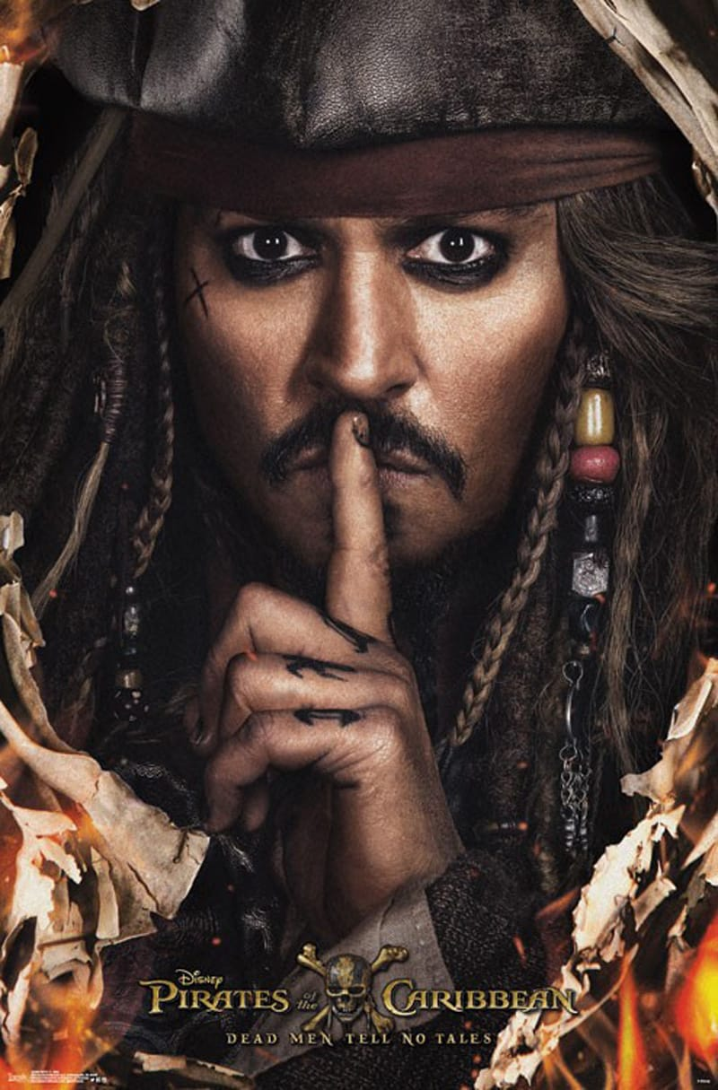 Pirates of the Caribbean 5 Poster Art