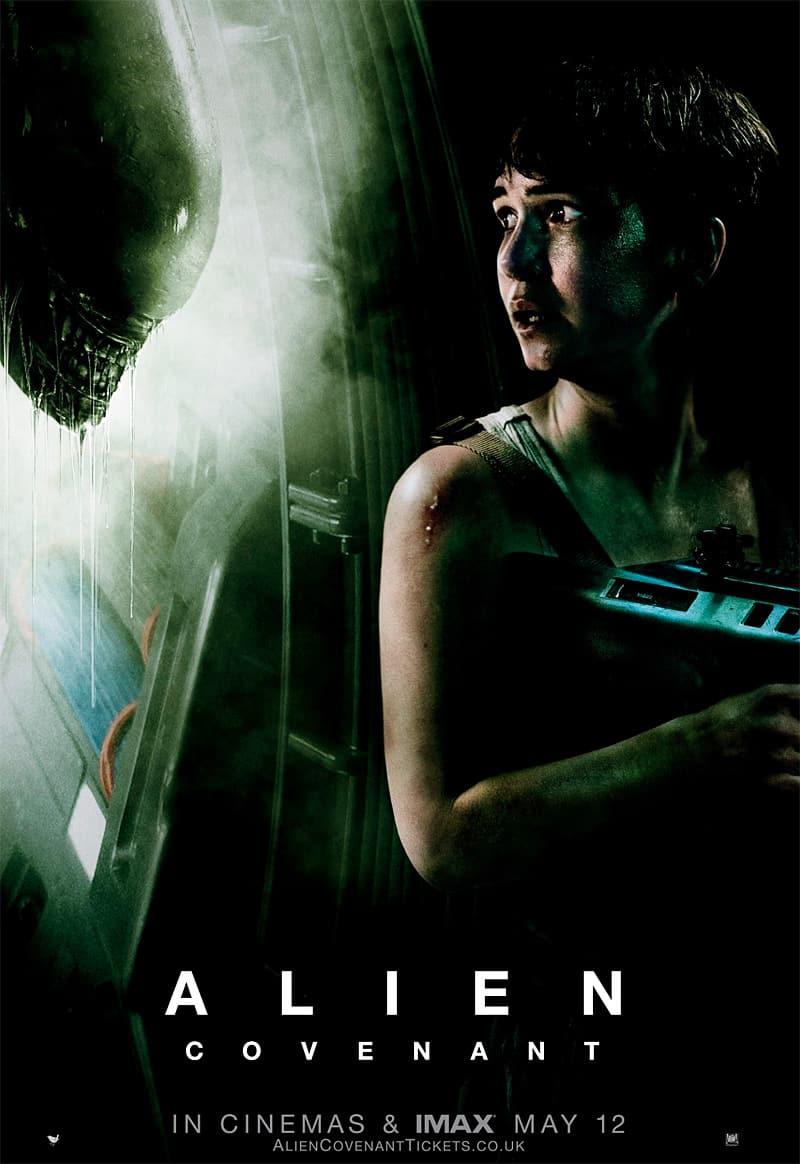 Alien Covenant UK Poster