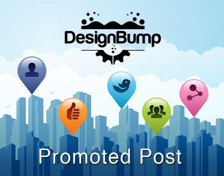 Sponsored and promoted posts on DesignBump