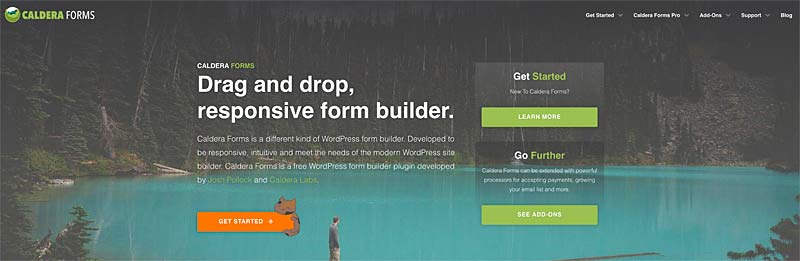 Caldera Forms WordPress