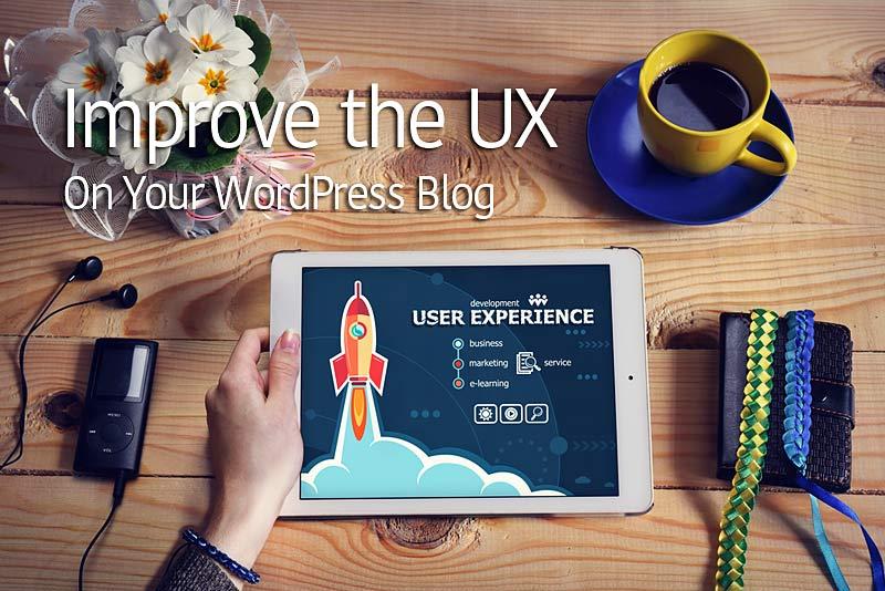 user experience wordpress blog