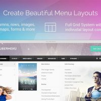 Drop Down Navigation Menu Designs - Ubermenu for WordPress